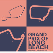 Load image into Gallery viewer, Grand Prix of Long Beach - Garagista Series