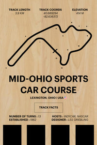 Mid-Ohio - Corsa Series - Wood