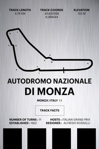 Monza - Corsa Series - Raw Metal