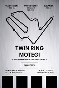 Twin Ring Motegi - Corsa Series - Raw Metal