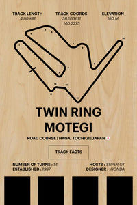 Twin Ring Motegi - Corsa Series - Wood