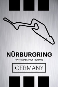 Nurburgring GP-Strecke - Pista Series - Raw Metal