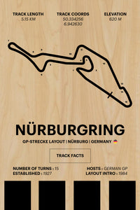 Nurburgring GP-Strecke - Corsa Series - Wood