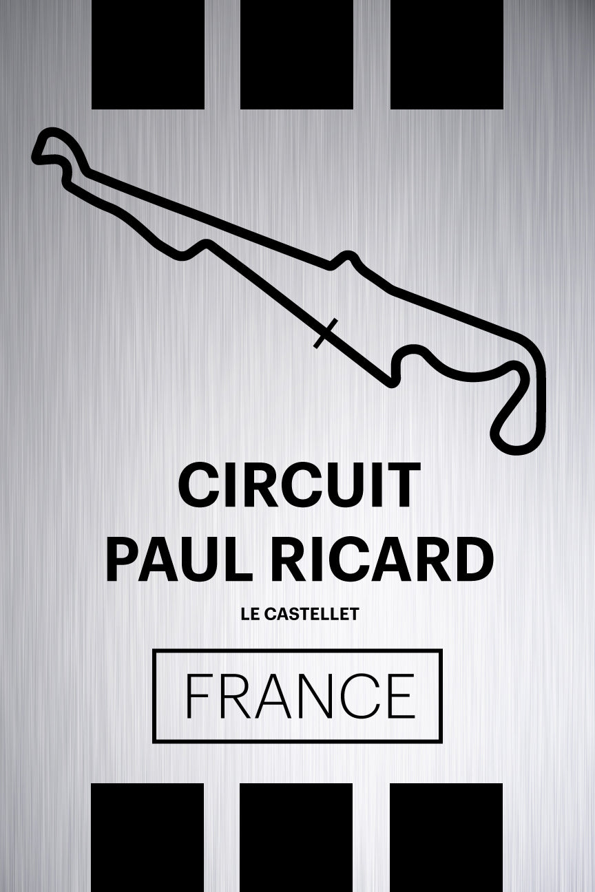 Paul Ricard - Pista Series - Raw Metal