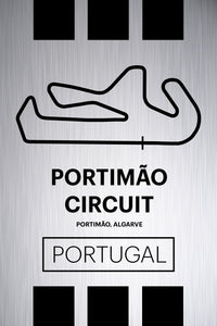 Portimao Circuit - Pista Series - Raw Metal