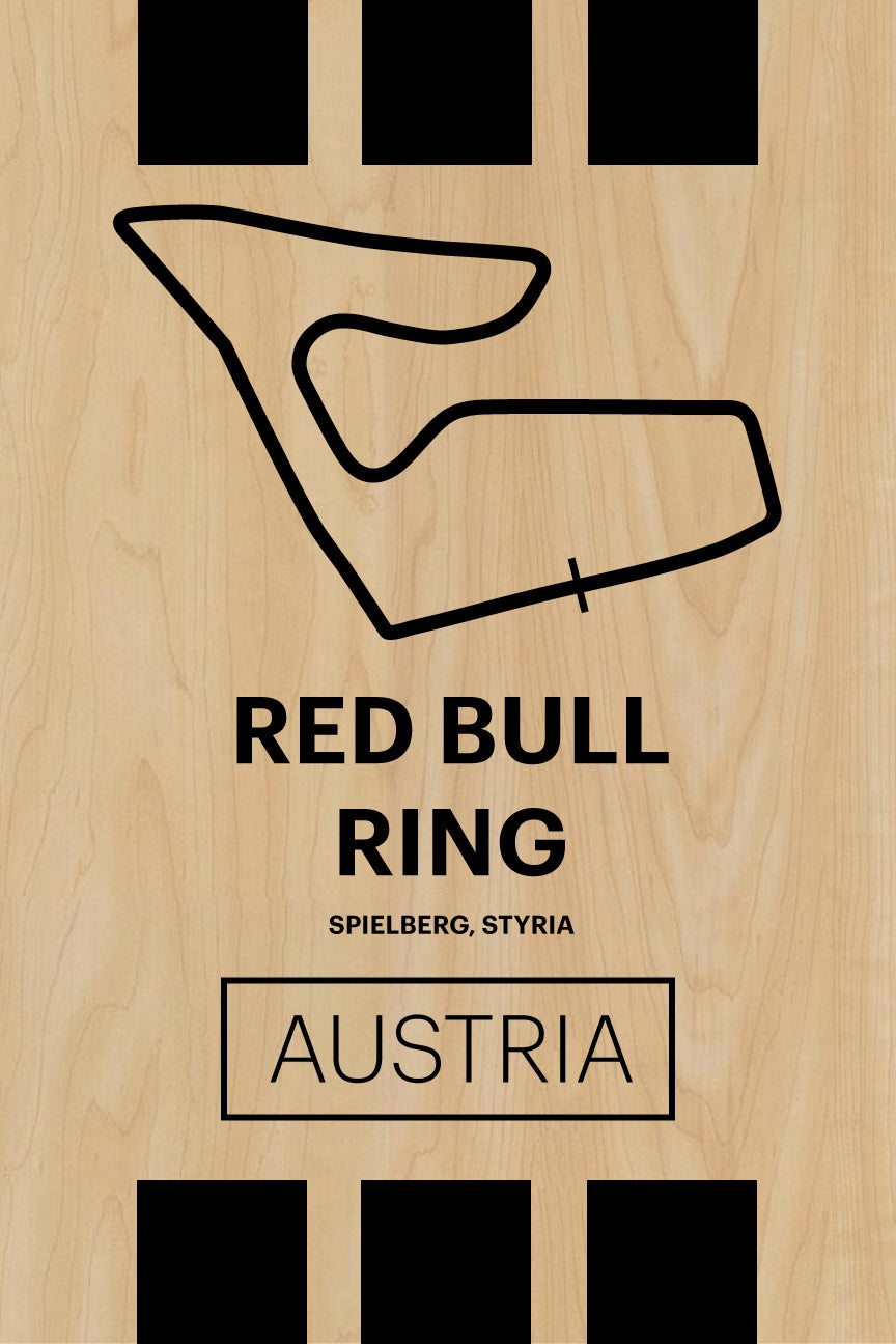 Red Bull Ring - Pista Series - Wood