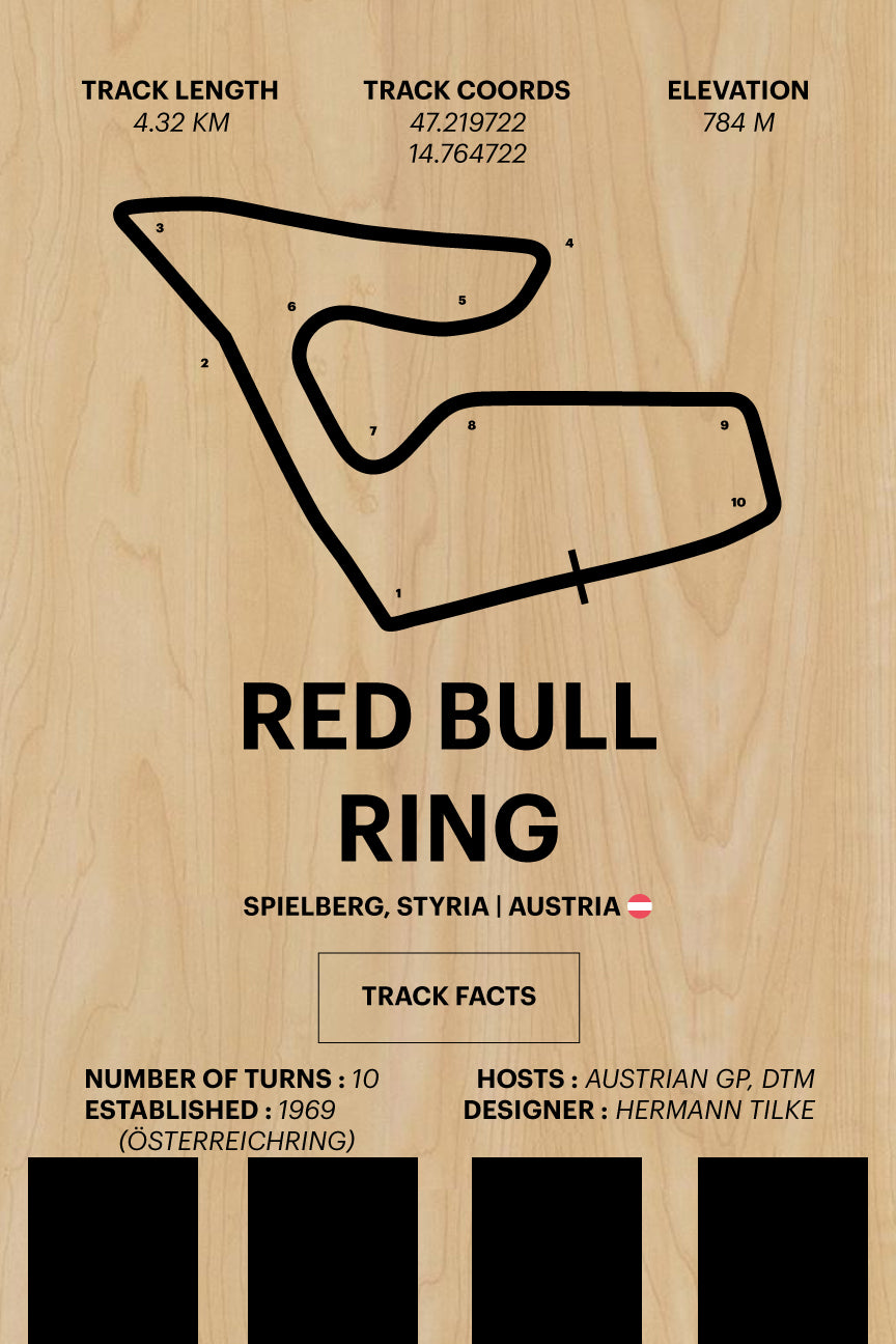 Red Bull Ring - Corsa Series - Wood