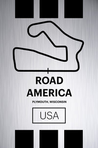 Road America - Pista Series - Raw Metal