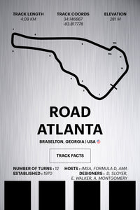 Road Atlanta - Corsa Series - Raw Metal