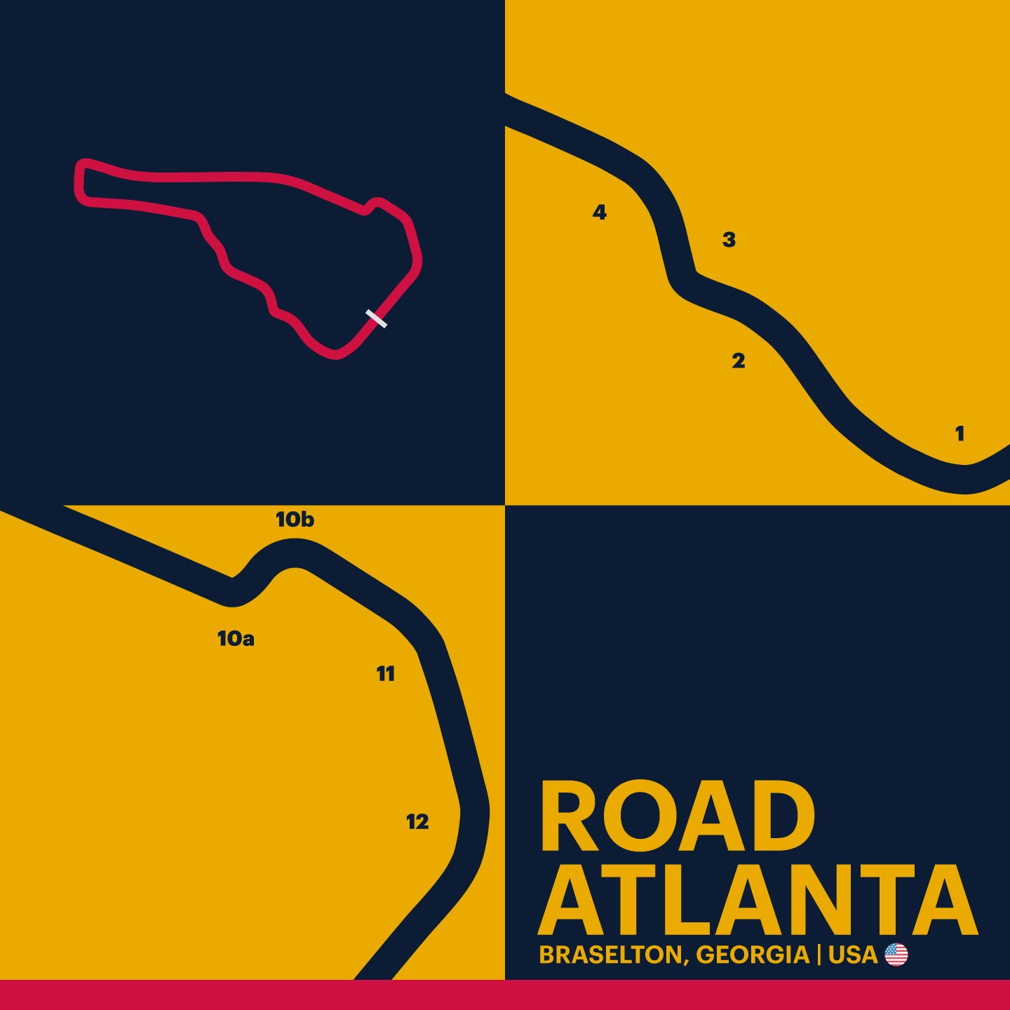 Road Atlanta - Garagista Series