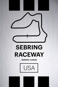 Sebring - Pista Series - Raw Metal