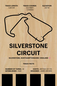 Silverstone Circuit - Corsa Series - Wood