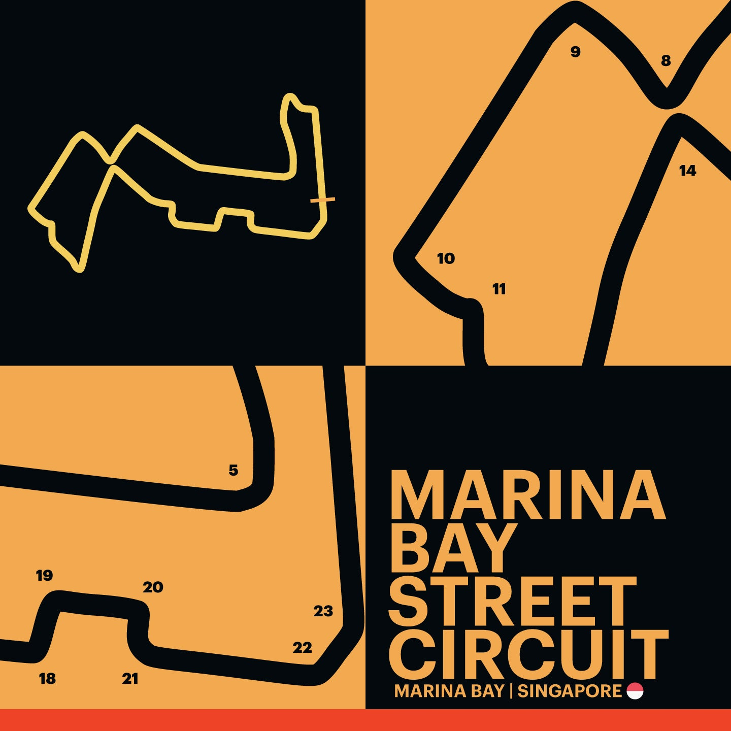 Marina Bay Street Circuit - Garagista Series