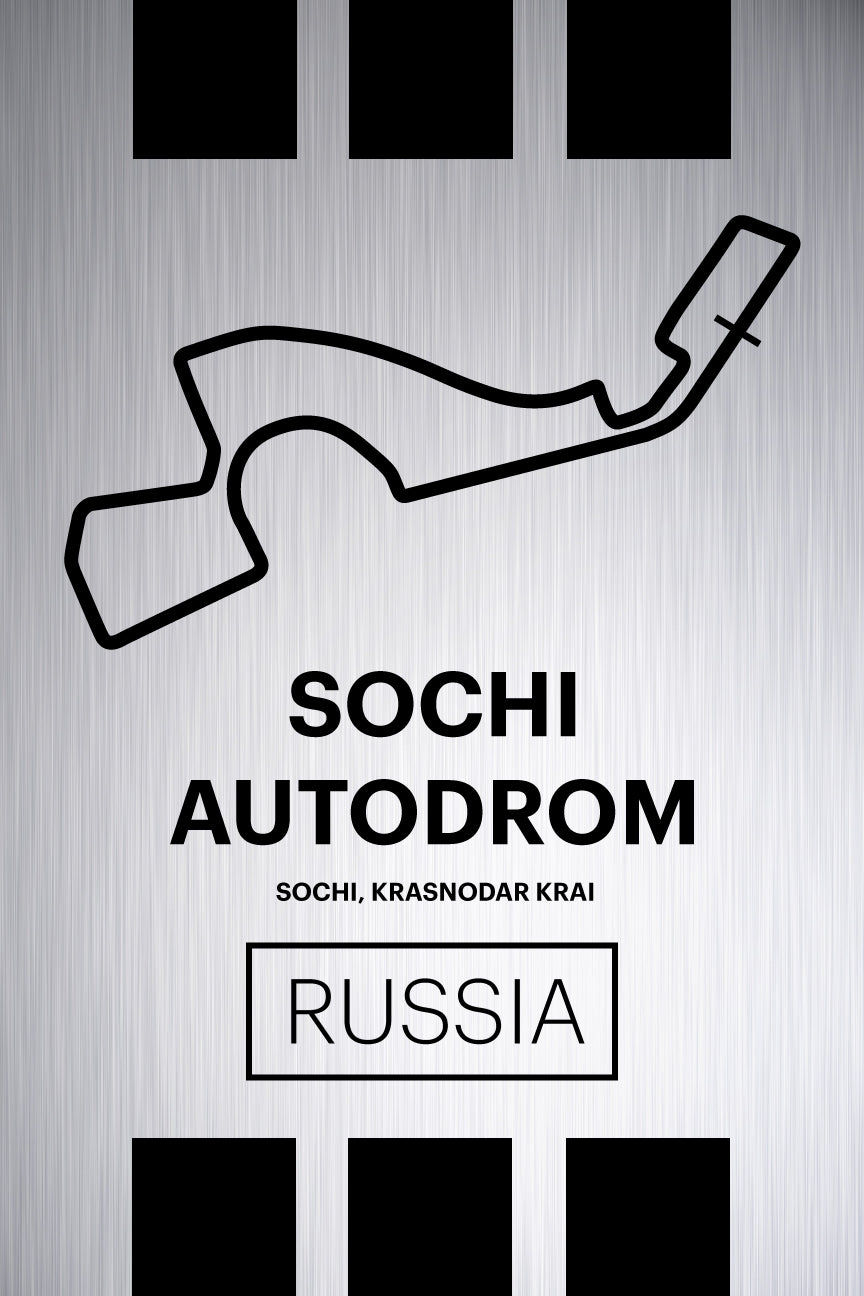 Sochi Autodrom - Pista Series - Raw Metal