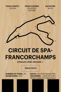 Spa - Corsa Series - Wood