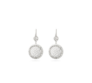 Officina Bernardi Sole Medium Disk Earrings