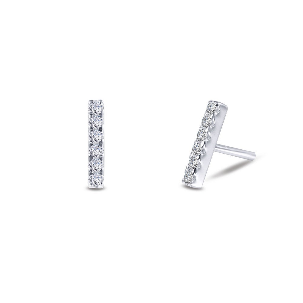 Lafonn Mini Bar Earrings