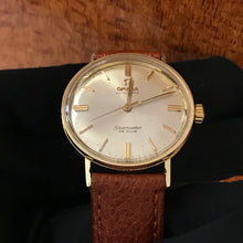 Load image into Gallery viewer, Omega Seamaster De Ville Vintage 14k Yellow Gold