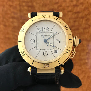 Cartier Pasha 18k Yellow Gold