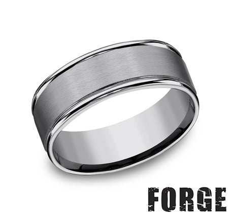 Benchmark Tungsten Band 8 mm, Size 9