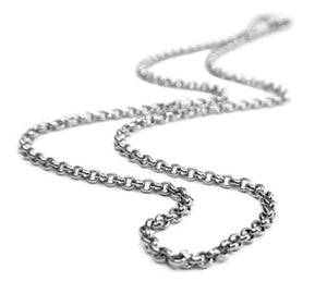Belle Etoile Sterling Silver Chain - Thick Rolo
