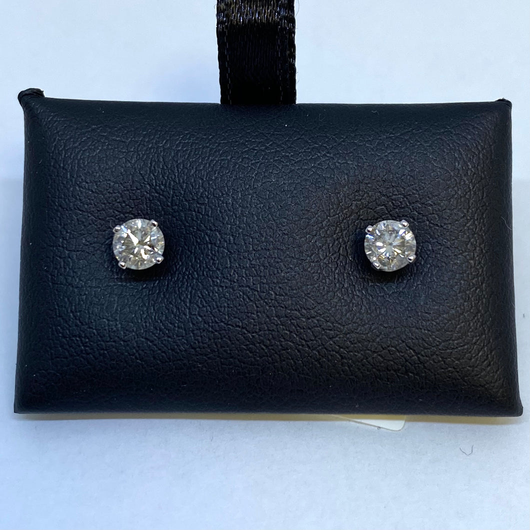 .50 Carat Diamond Stud Earrings