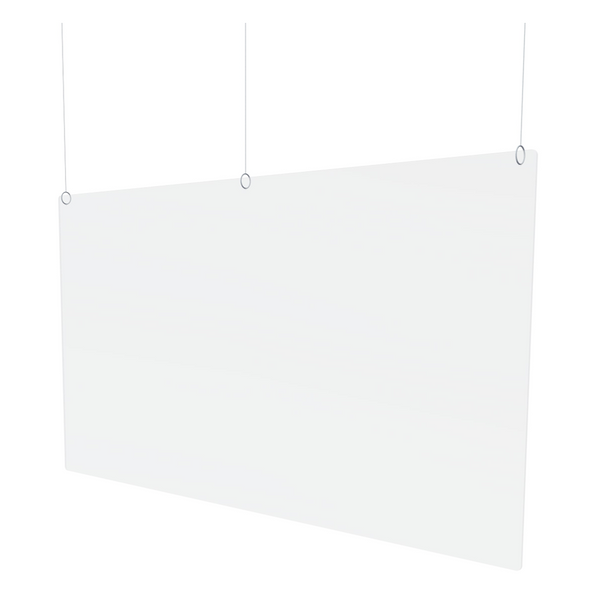 Hanging Plexi Barriers