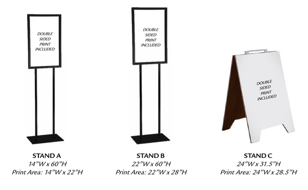 Business Signs & Sign Holders
