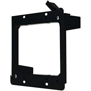 DATA COMM Electronics 60-0022-S 2-Gang Low Voltage Mounting Bracket, Purple
