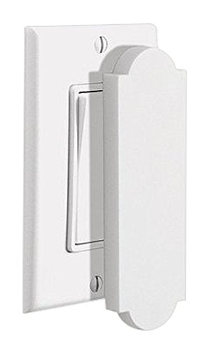 YBM Home Magnetic Switch & Outlet Cover, White (MF1006)