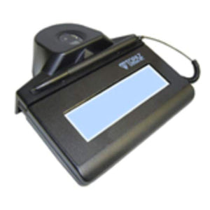 Topaz IDGem TF-LBK464-HSB-R Electronic Signature Pad with Fingerprint Sensor