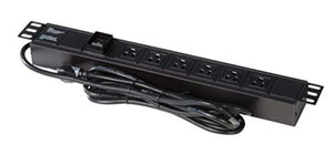 Gator GRW-PWRVERT-6-6-Outlet Power Strip, UL