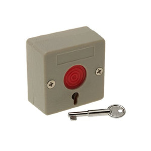 uxcell Home Office Emergency Switch Button with Key