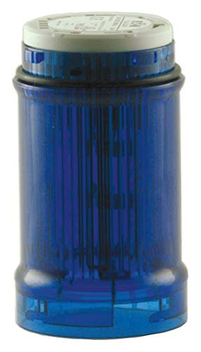 EATON CUTLER HAMMER SL4-L24-B VISUAL SIGNAL INDICATOR, 40MM, 24V, BLUE