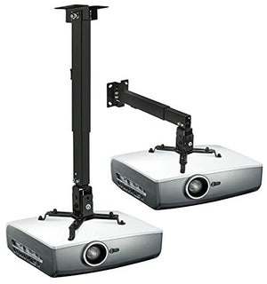 Mount It! Wall Or Ceiling Projector Mount With Universal Lcd/Dlp Mounting For Epson, Optoma, Benq, V