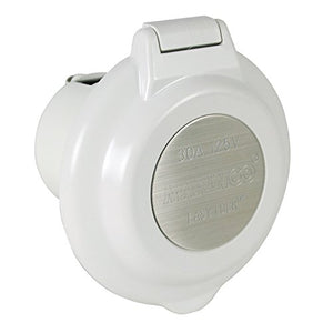 ParkPower by Marinco 304EL-BRV 15A, 20A, 30A & 50A Power Inlets, White