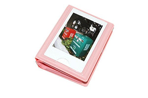 29 Pockets Photo Album for Fujifilm Instax Mini 7s / 8/9 / 11/25 / 50/70 / 90 Macaron Colorful Frame Mini Films Book Pink