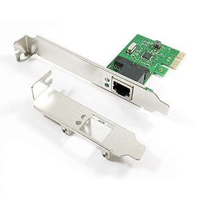 X-MEDIA 1-Port PCI-E 10/100/1000Mbps Gigabit Ethernet PCI Express PCIe Network Card / Network Adapter, Windows 10 & Linux Supported [XM-NA3800]