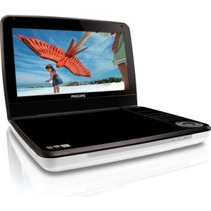 Philips PD9000/37 9-Inch LCD Portable DVD Player -White/Black (Renewed)