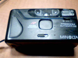 Minolta Co., Ltd. Minolta Freedom Autodate S II 35mm Film Camera w/ AF Auto Focus Red-Eye Reduction (Black Color Camera)
