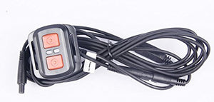 Sykik Rider Wired Remote for Sykik Rider Biker's Camera Systems for Emergency Mode Recording