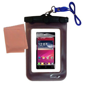 Gomadic Outdoor Waterproof Carrying case Suitable for The LG P880 to use Underwater - Keeps Device Clean and Dry