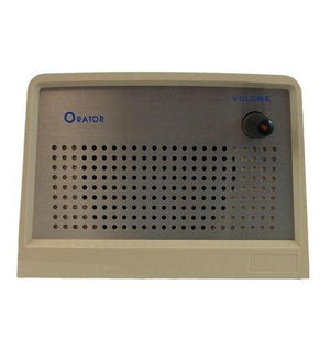 ITT Orator Speaker Desktop, Ash (ITT-01074400APAK) Category: Paging and Intercom Products