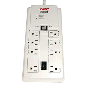 APC P8GT 8-Outlet Energy-Saving Surge Protector consumer electronics Electronics