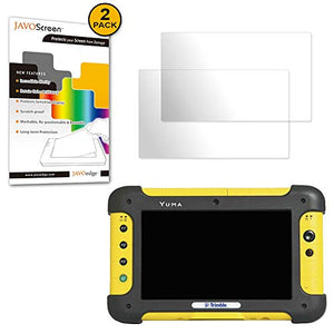 JAVOedge Trimble Yuma, [Anti-Glare] Screen Protector (2 Pack), Defensive Armor from Scratches for Rugged Tablet Computer