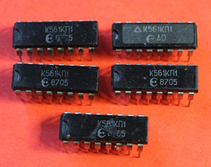 S.U.R. & R Tools K561KP1 Analogue CD4052A, CD4052B IC/Microchip USSR 20 pcs