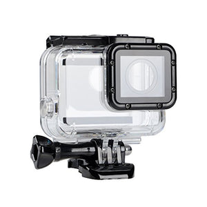 Suptig Replacement Waterproof Case Protective Housing Compatible for GoPro Hero 7 Black Hero 6 Hero 5 Underwater Use - Water Resistant up to 147ft (45m)