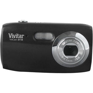 Vivitar 5.1MP Digital Camera 1.5-Inch TFT- Blister (V5118-BLK-PR)