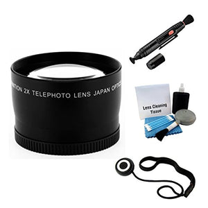 55mm Digital Pro Telephoto Lens Bundle for the Sony Alpha A33, A55, A58, A290, A330, A390, A230 Digital SLRs. Includes 2x Telephoto High Definition Lens, Lens Pen Cleaner, Cap Keeper, UltraPro Deluxe
