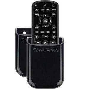 TotalMount Universal Remote Holders (Quantity 2 - One Remote per Holder)